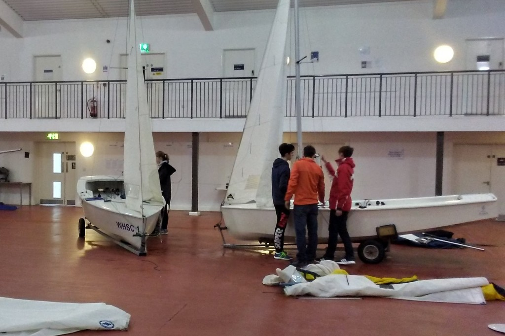 Boat Preparation at WPNSA